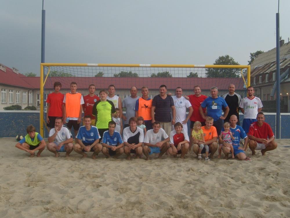 Rodzice, przyjaciele, trenerzy vs Milenium, lipiec 2012