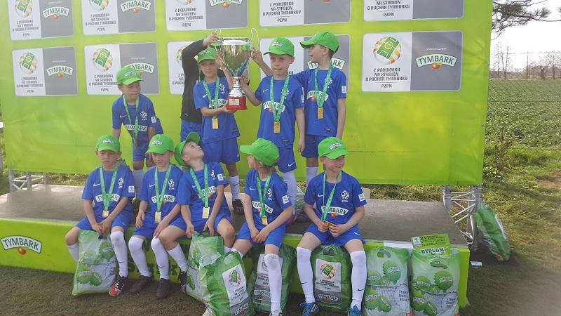 Puchar Tymbarku w kategorii U-8 – złoto jest NASZE !!!
