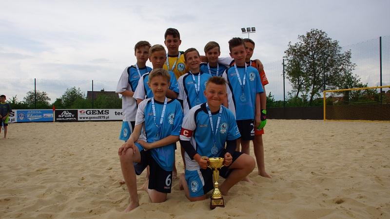 SP 17  Mistrzem Gliwic szkół podstawowych w Beach Soccer